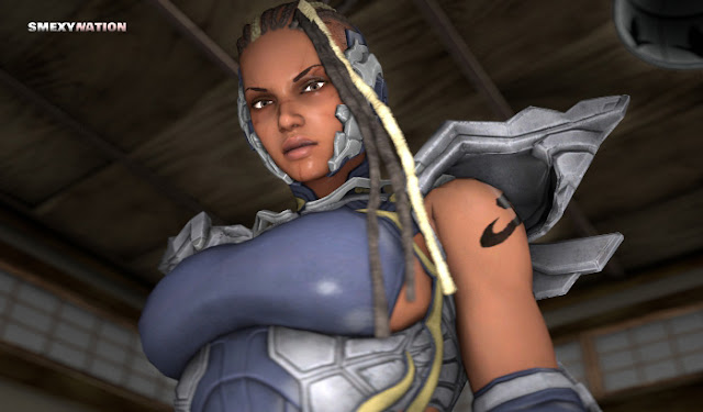 Tekken 7 master raven bodysuit