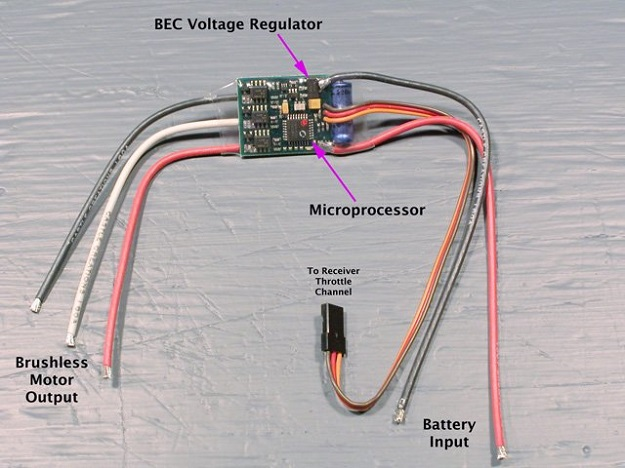 bec battery eliminator circuitry   rc dictionary AA Battery Eliminator 90 Volt Battery Eliminator Schematic