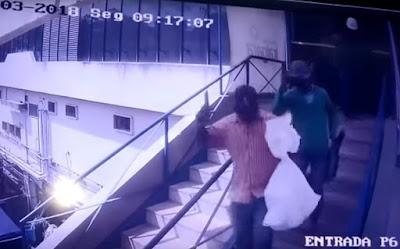 Câmeras de segurança registram assalto no Shopping Itaigara; veja vídeo