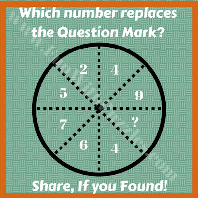 Tough circle logical puzzle