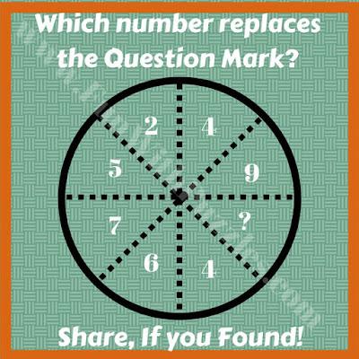 Tough circle logical puzzle