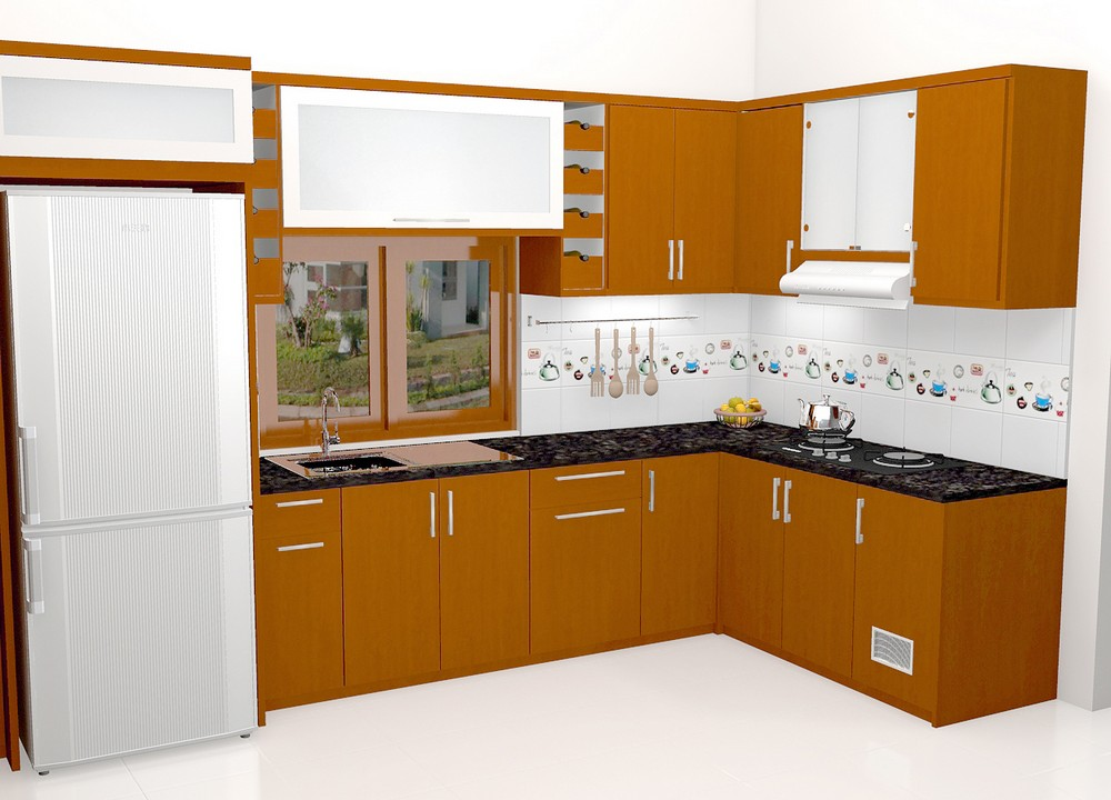 Kitchen Rooms Interior Kitchen Set Minibar Furniture