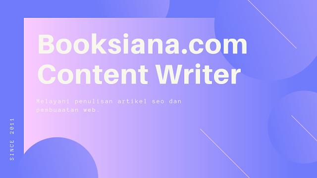 Jasa Penulis Artikel Termurah Bergaransi
