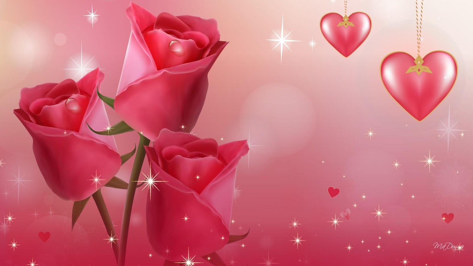 Best romantic valentines day flowers 2017 images collection animated beautiful valentines day flowers wallpapers izmirmasajfo Images