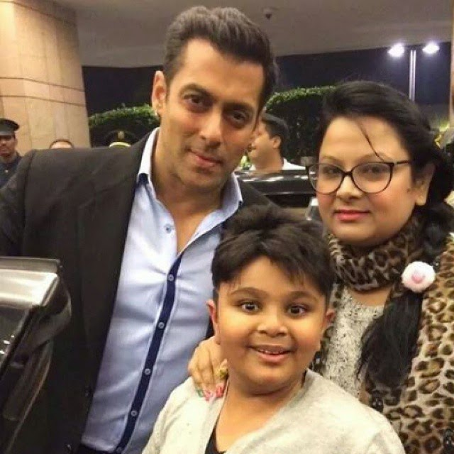handsome @beingsalmankhan with fans 
