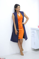 Priyamani in Beautiful Short Deep neck Orange Dress ~  Exclusive 18.JPG
