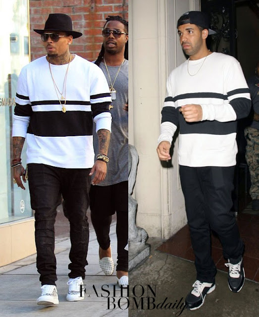 Chris-Brown-vs-Drake who wears it better