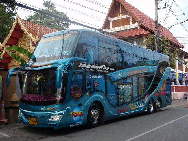 Модная раскраска автобуса
