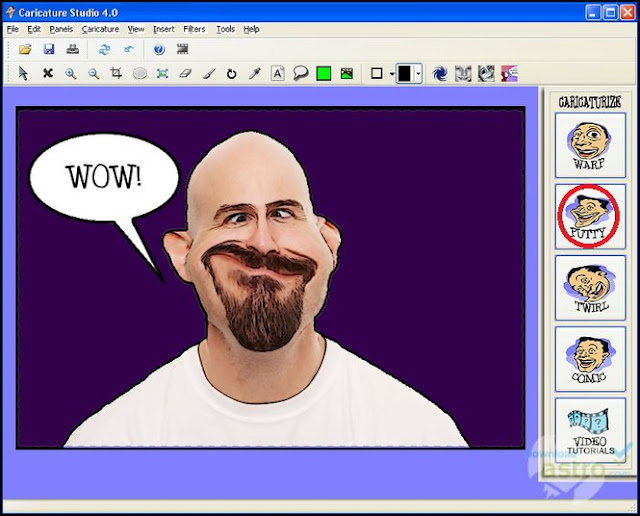 Caricatur X Studio - Aplikasi Laptop Edit Karikatur Yang Mudah Digunakan