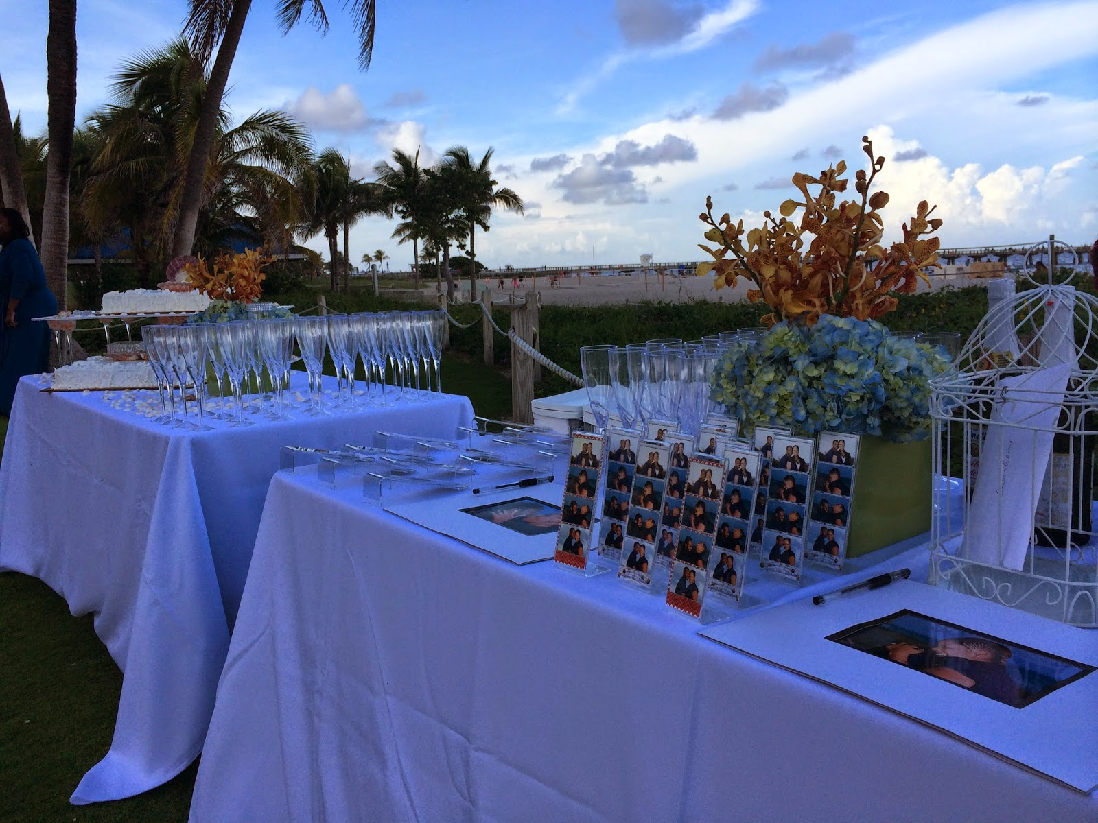 Beach wedding South Florida ceremony