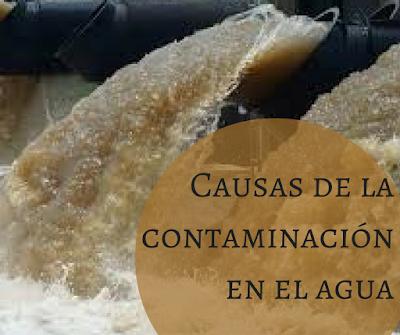 Distribuciones de la Calle, causas contaminación agua