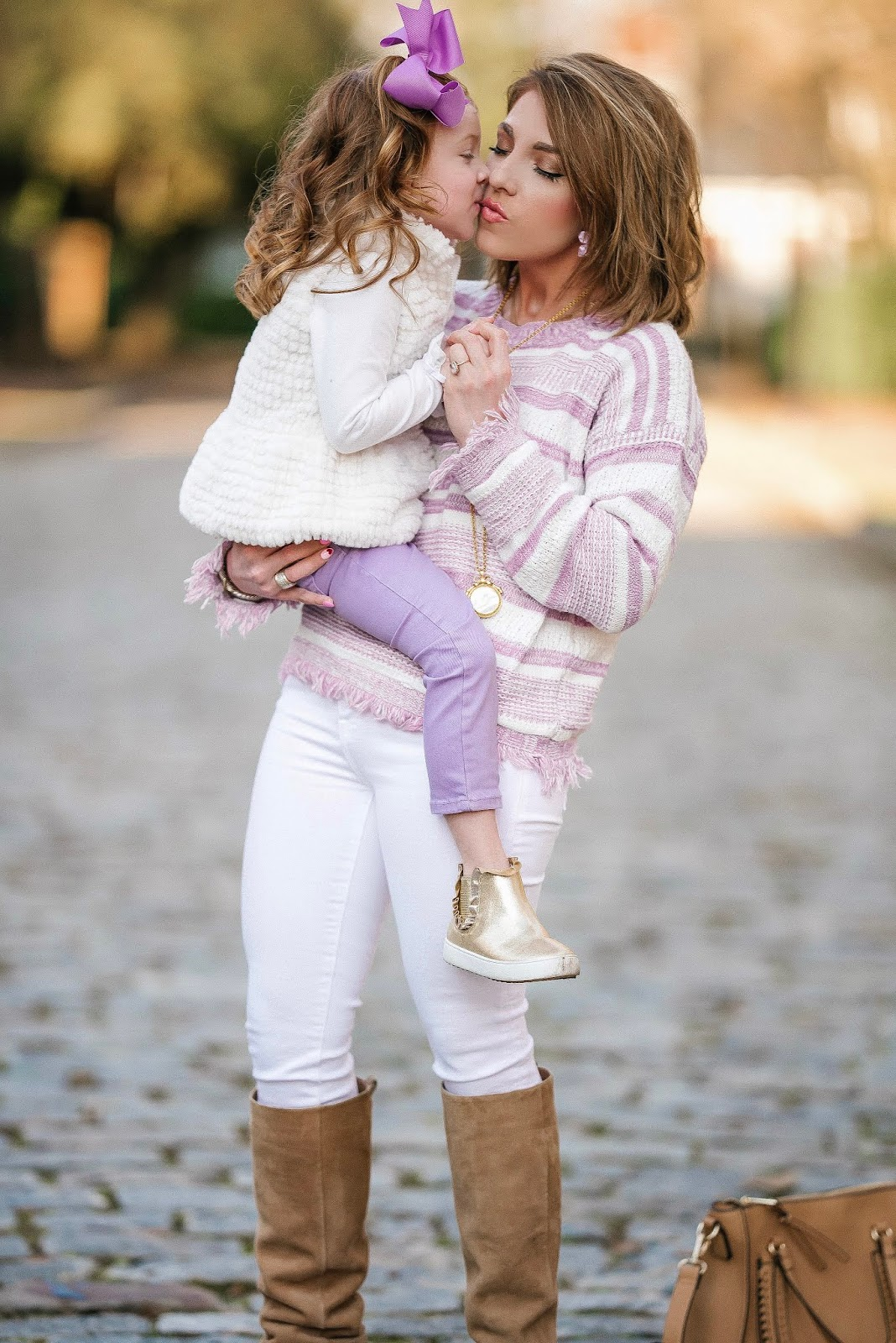 Lavender Love: Mommy & Me Pre-Spring Look - Something Delightful Blog