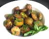 Skillet Potato Salad with Fresh Basil and Cilantro