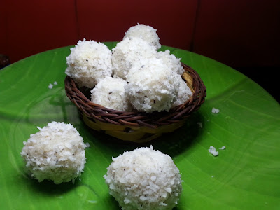 Coconut ,laddu, recipe ,ladoo,naariyal,thenga