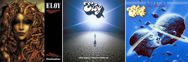 Eloy : Destination, The Tides Return Forever, Ocean 2 / source : discogs.com