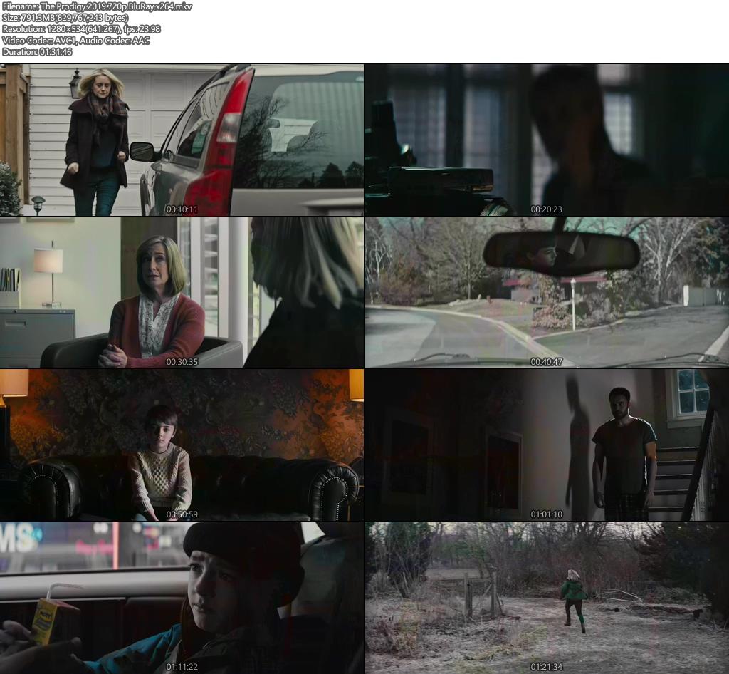 The Prodigy 2019 720p BluRay x264 | 480p 300MB | 100MB HEVC Screenshot