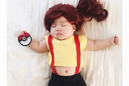 Cosplay Bayi Lucu dan Menggemaskan