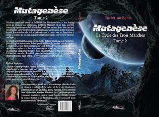 Mutagenèse, par l'auteure Christine Barsi, 5 Sens Editions