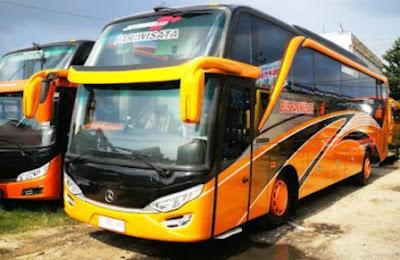 Perusahaan bus pariwisata harga murah wilayah Riau