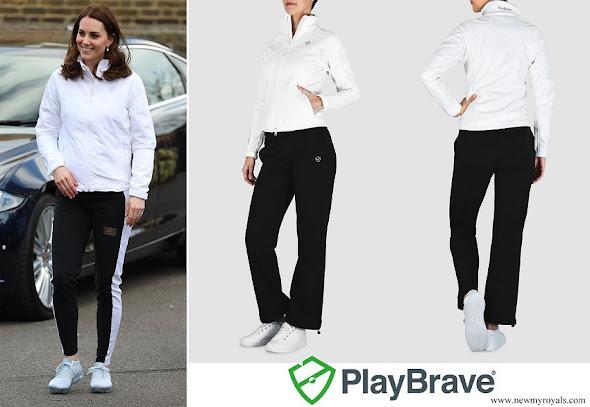 Kate Middleton wore PlayBrave Sophia Soft Shell Jacket