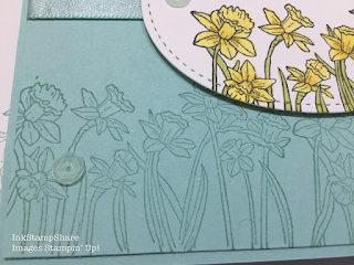 You're inspiring Stampin Up. Tone on tone stamping