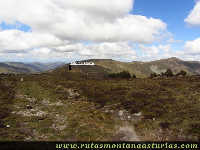 Camino al Alto de la Marta