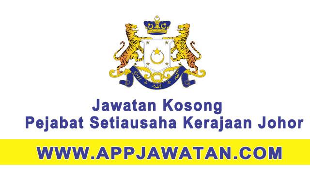 Jawatan Kosong Suruhanjaya Perkhidmatan Awam Johor Spaj 22 April 2017 Appjawatan Malaysia
