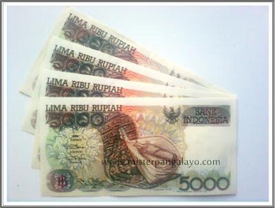 Uang kertas pecahan 5000 IDR, tahun 1992