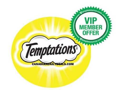 Samplesource VIP Member Offer Temptations Cat Treats