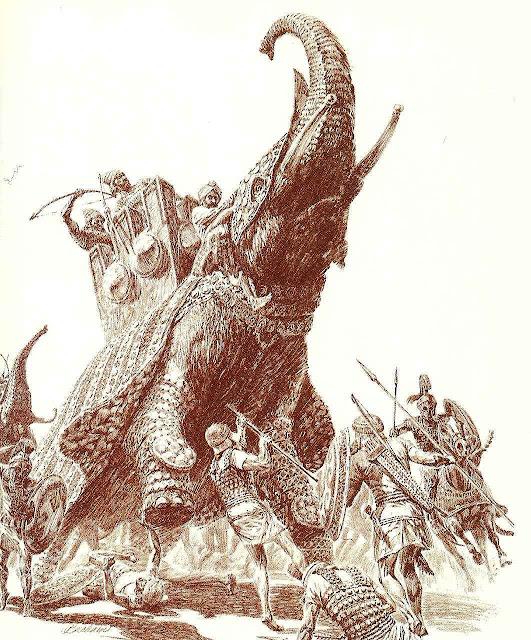Os Macabeus desfizeram exército pagão montado em elefantes.
