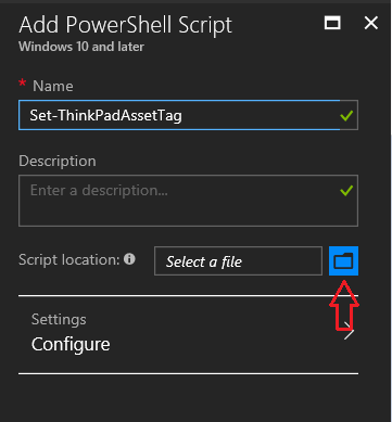 Setting an Asset Tag on ThinkPads with a MDM