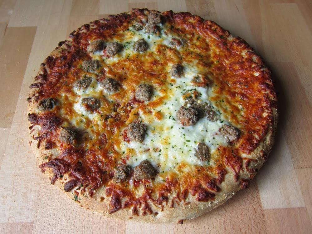 Frozen Friday Digiorno Meatball Marinara Pizza Brand Eating