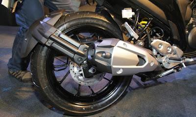 2017 Yamaha FZ25 Rear wheel