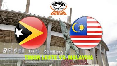 Live Streaming Timor Leste vs Malaysia Kejohanan AFF B-19 8.7.2018