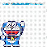 hama beads mini doraemon3