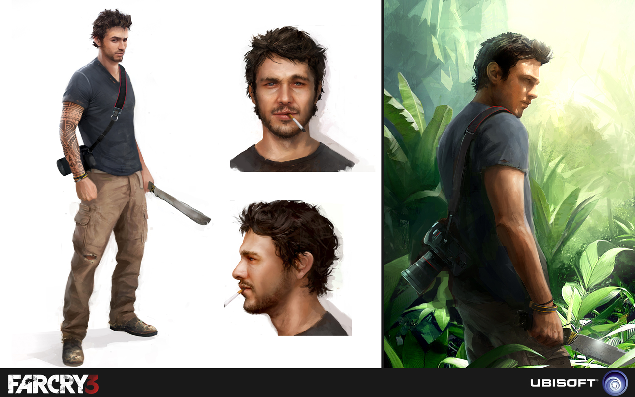 Inkertone Far Cry 3 Concept Art