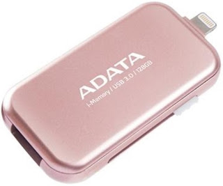 ADATA Launches i-Memory UE710 Rose Gold OTG Flash Drive for iPhone