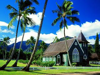 Waioli Huiia Church252C Hanalei252C Kauai252C Hawaii   erc