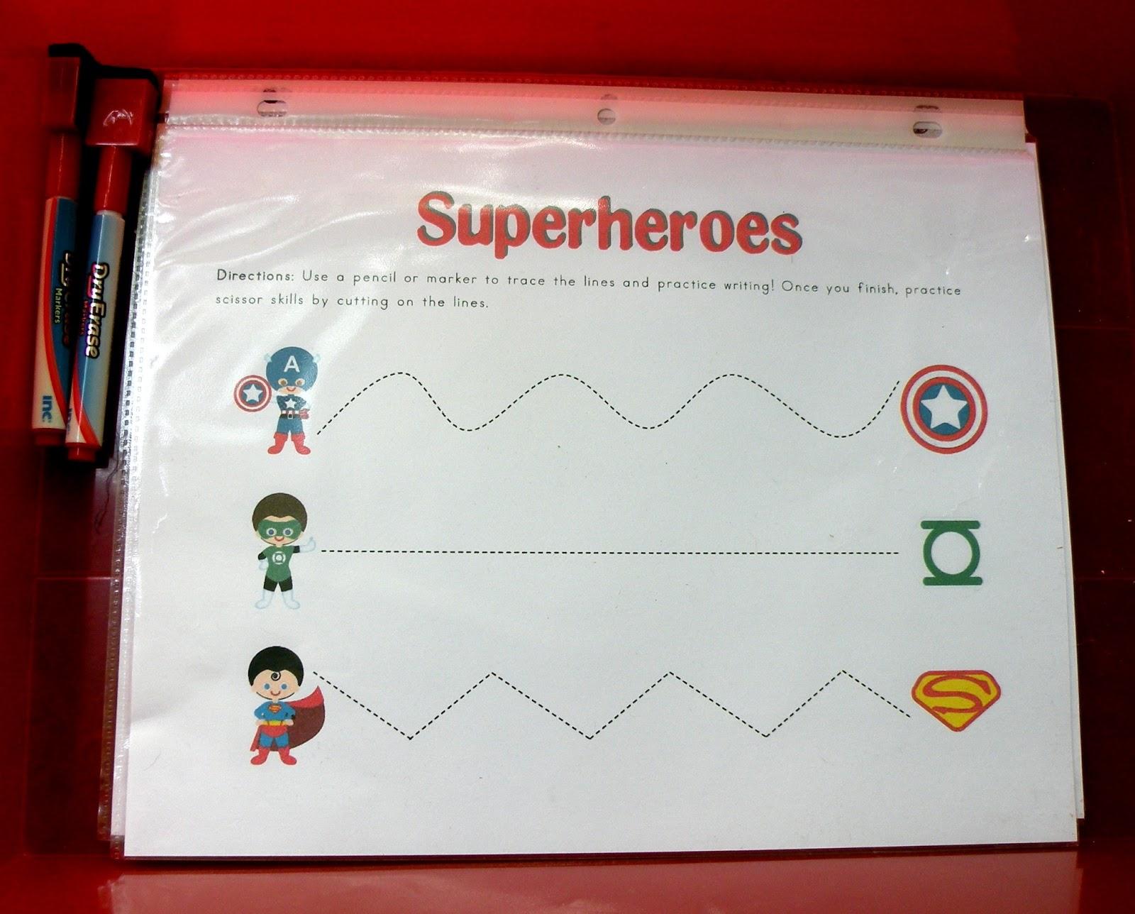 The Fantastic Five Superhero Preschool