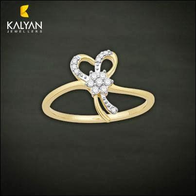 Kalyan Jewellers Diamond Rings Designs
