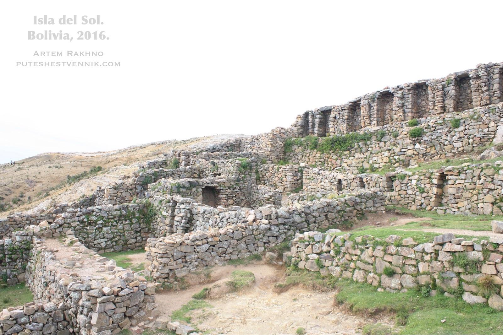 Древнее сооружение инков