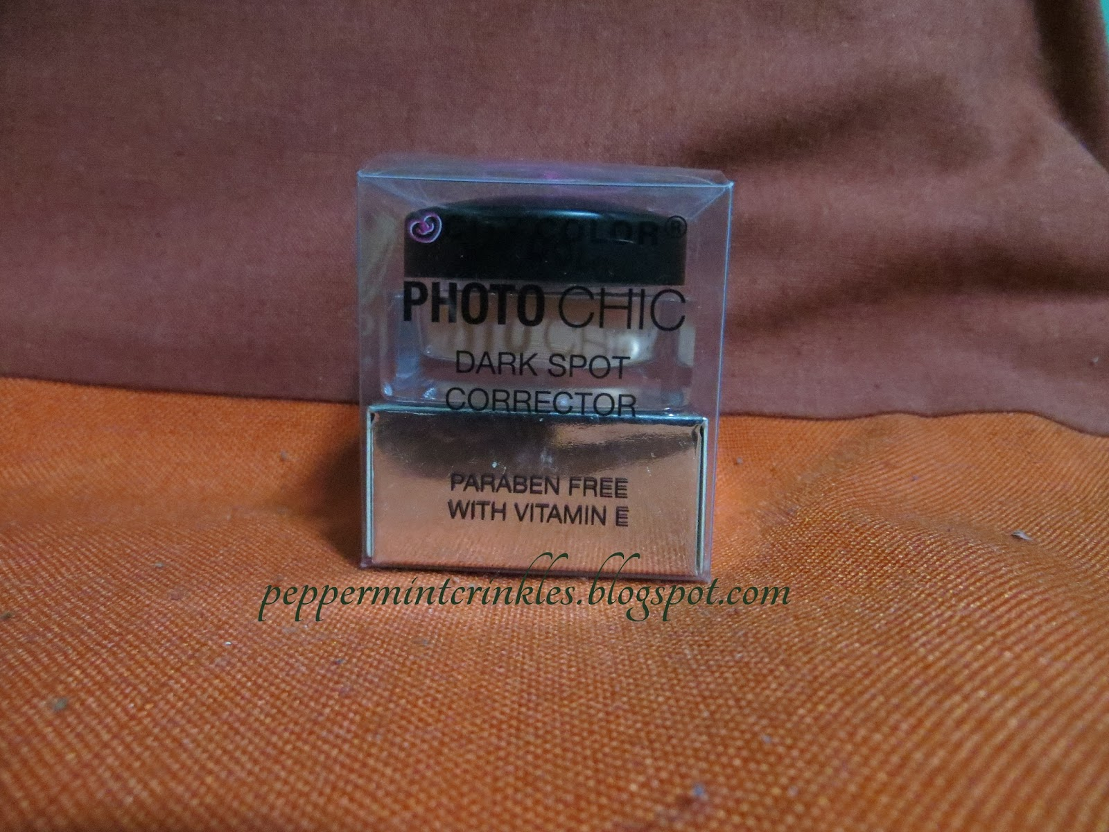 City Color Photo Chic Dark Spot Corrector ~ Peppermint Crinkles
