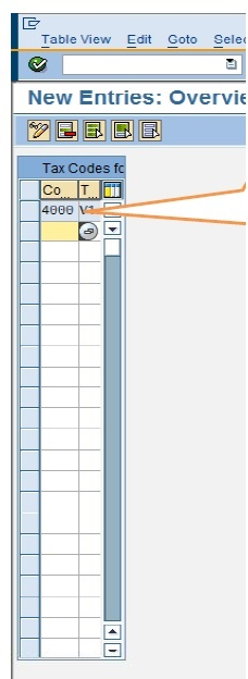 SAP CIN : HOW TO ASSIGN TAX CODE TO COMPANY CODES IN SAP CIN