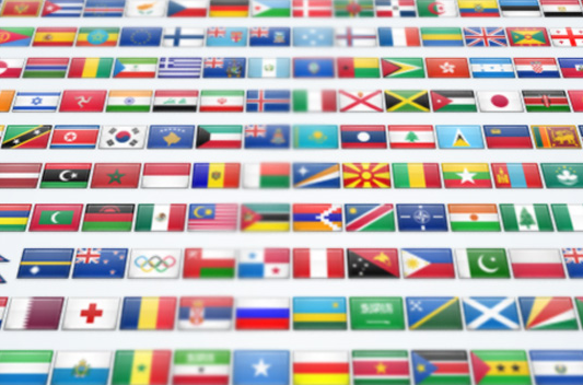 2600 Flag Icon Set