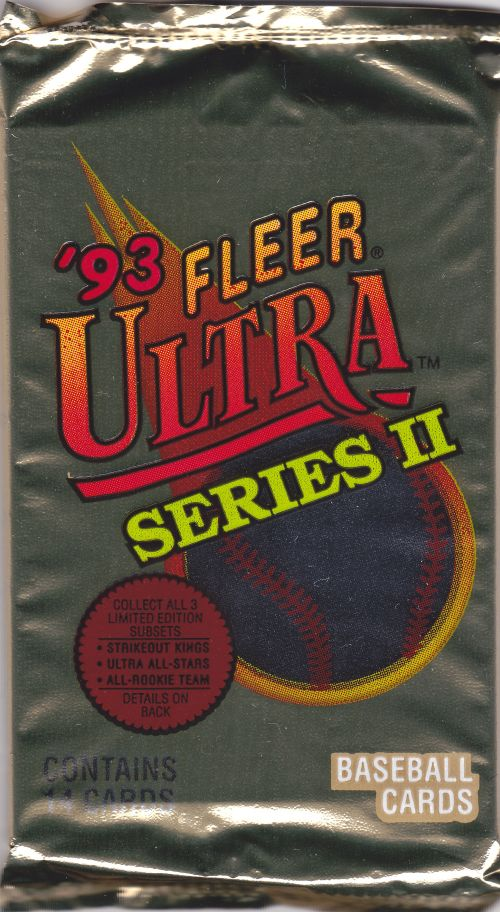 Cards On Cards Ten Interesting Cards 1993 Fleer Ultra