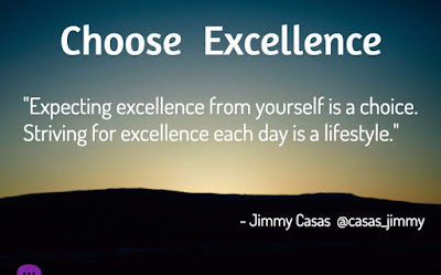 Expecting Excellence Quotes