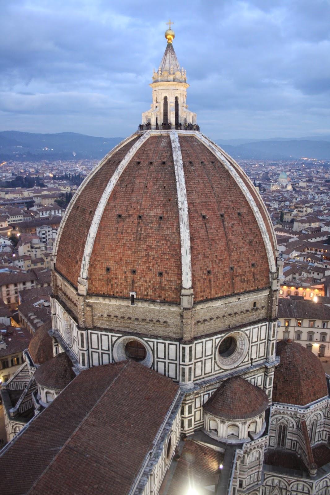 Cupula de Santa Maria del Fiore en Florencia