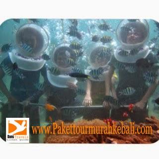 Waterwalk Sanur - Sanur underwater - Seawalker Sanur