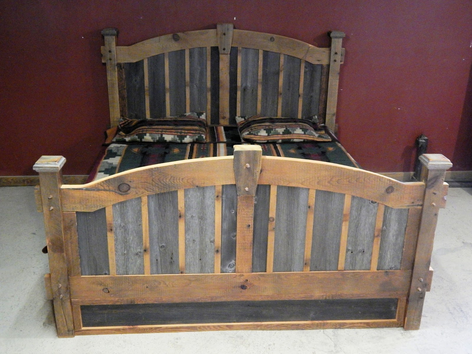 kuo queen rustic wood barn detail reclaimed kathy product grey bed olive home wolter barns