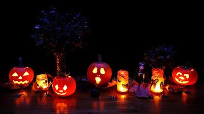 Halloween. Jack-o'-lantern